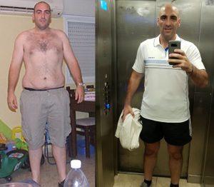 """רזה 40 ק""""ג ושומר על המשקל כבר 10 שנים"""